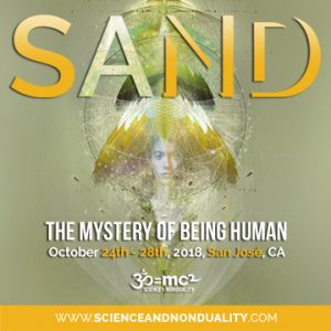 Science and Nonduality Conference banner with link
